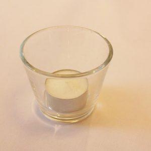 kandelaar klein glas