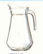 wijn / water kan glas 1ltr.