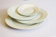 bord gebak luxe wit 16cm.